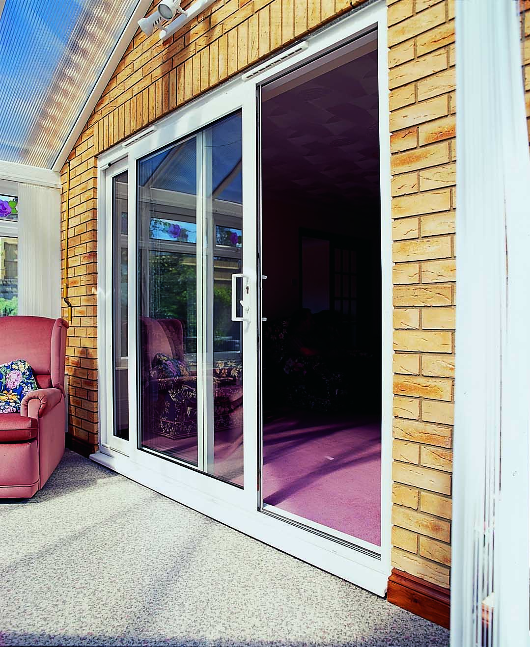 Sliding patio door decoration dual sliding patio doors and for Double glazed patio doors sale